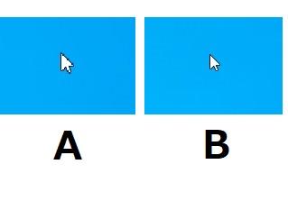 SnapCrabと通常のマウスカーソル比較