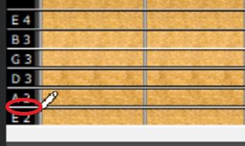 6弦開放の位置